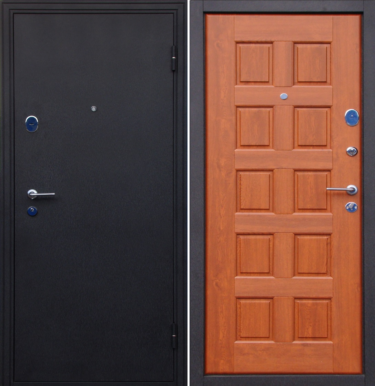 узкие железные двери